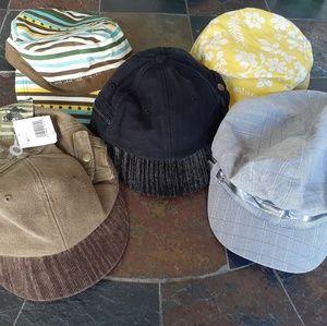 Bundle of 5 new hats